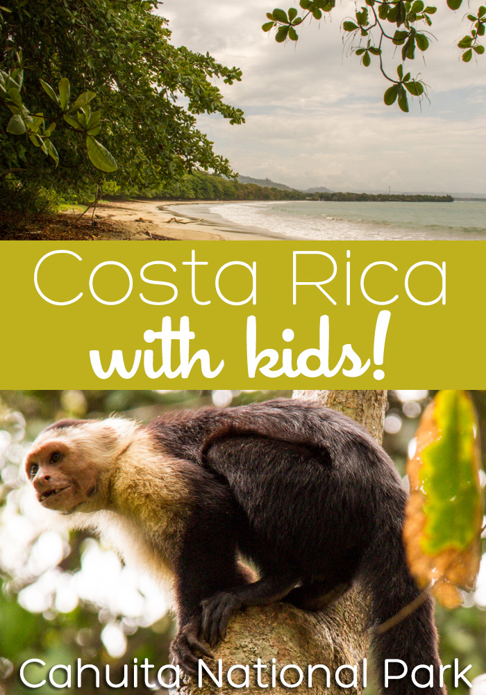 costa rica with kids cahuita national park